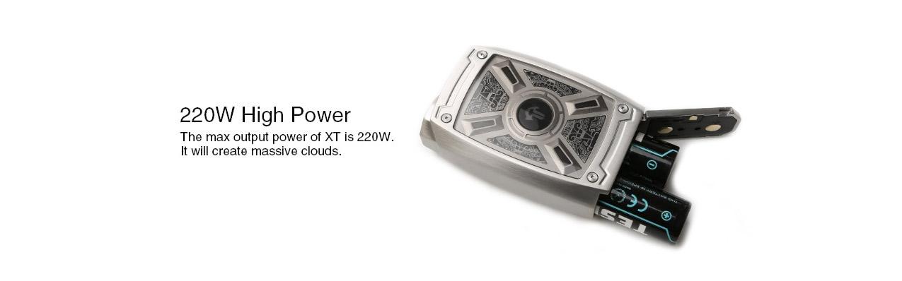 Tesla XT 220W Box Mod