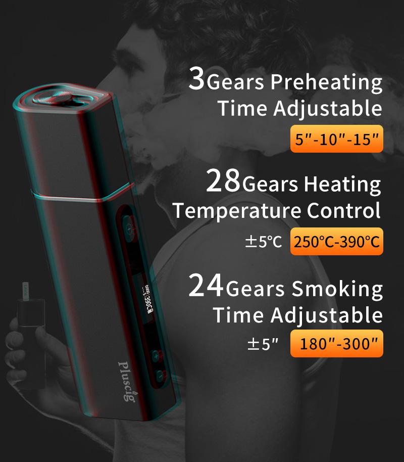Pluscig S9 Heating Kit