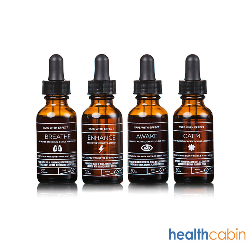 4pcs 15ml Elixir Awake/Breathe/Calm/Enhance E-liquid