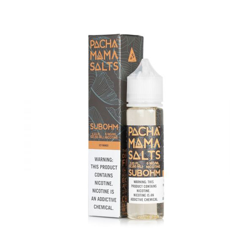 60ml Charlie's Chalk Dust Pachamama Sub Ohm Salts Icy Mango E-liquid