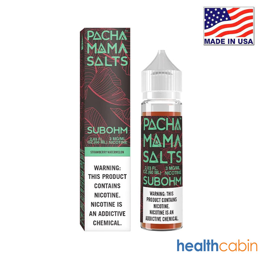 60ml Charlies Chalk Dust Pacha Mama Strawberry Watermelon E-liquid