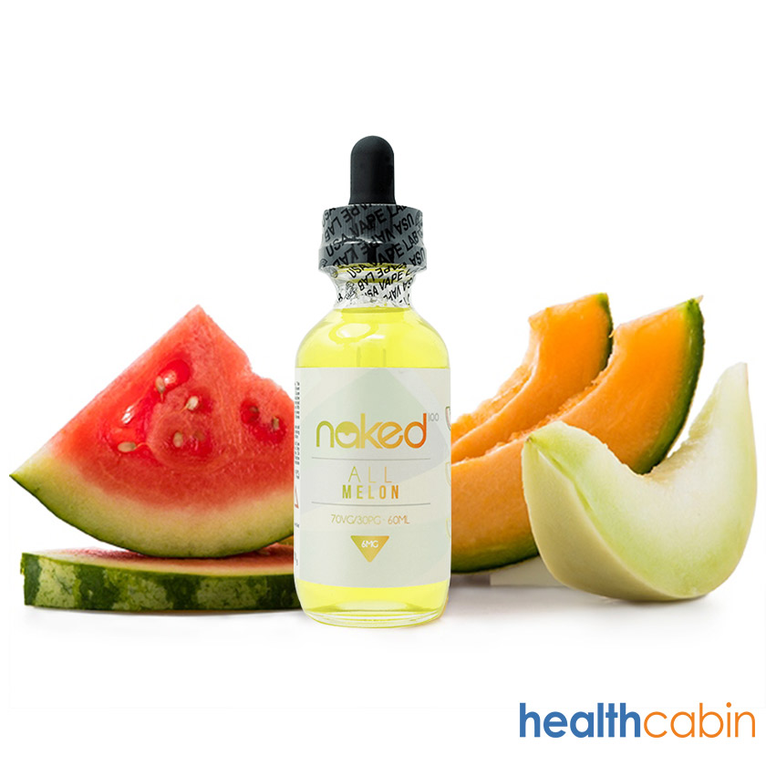 60ml Naked 100 All Melon E-liquid