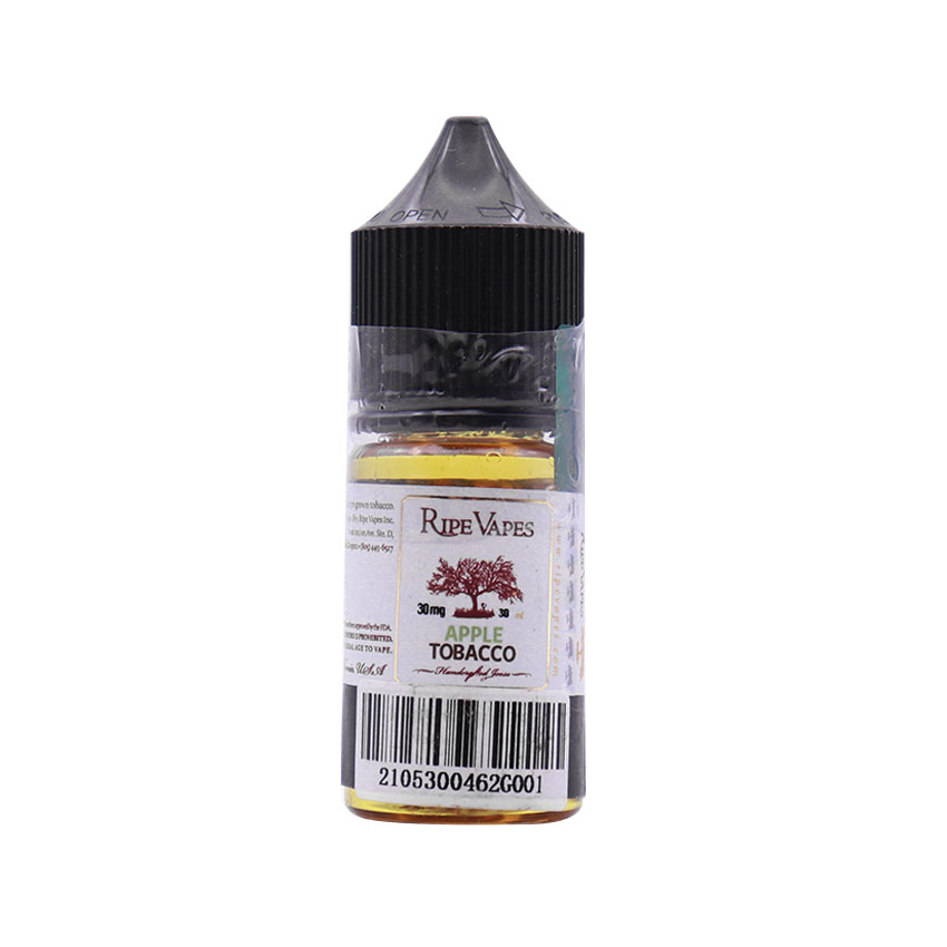 30ml Ripe Vapes Apple Tobacco Salt E-liquid
