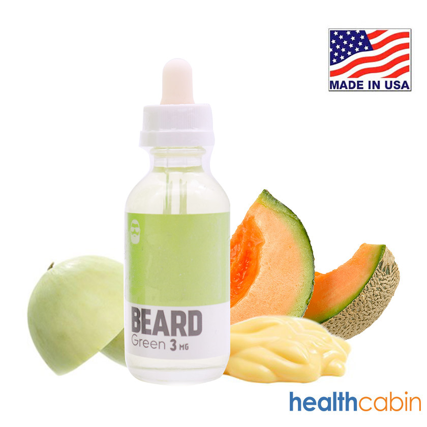 60ml Beard Vape Co Green E-liquid
