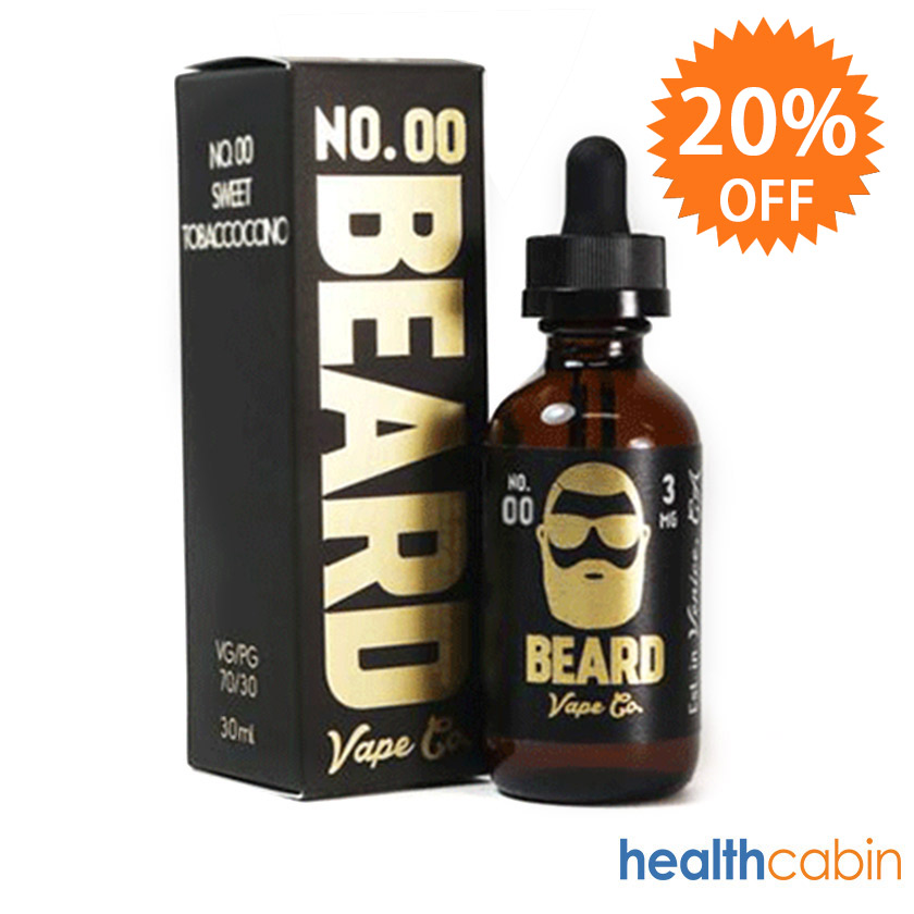 30ml Beard Vape Co No. 00 Sweet Tobaccoccino E-liquid