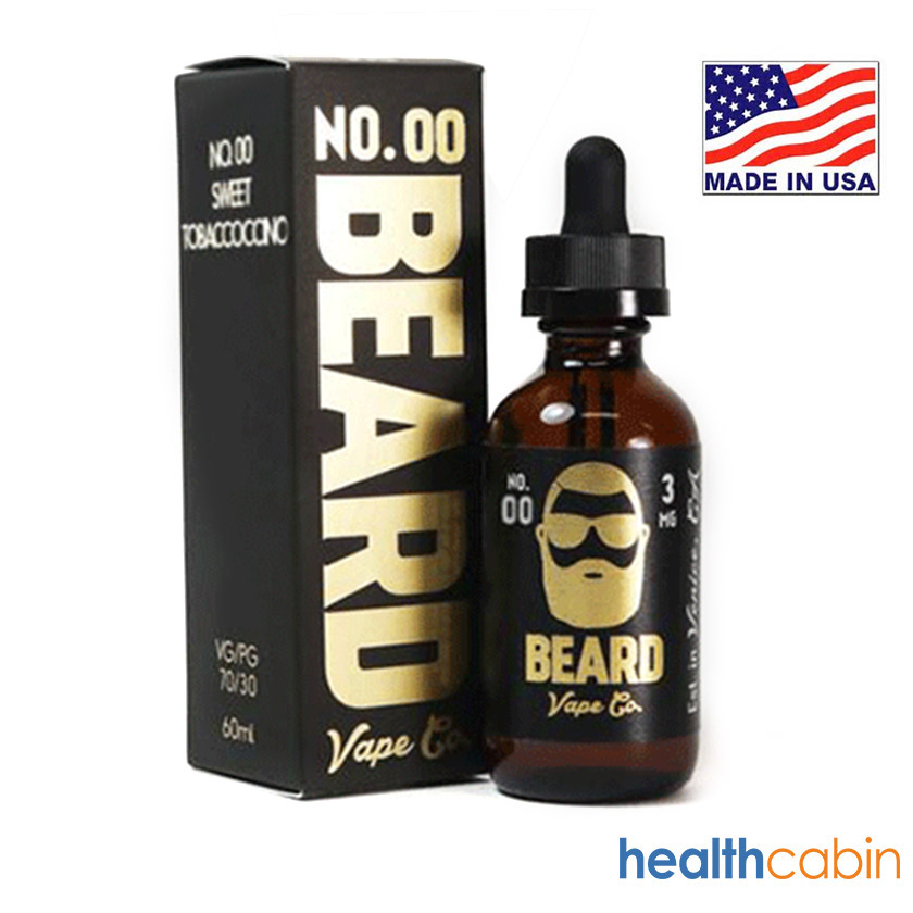 60ml Beard Vape Co No. 00 Sweet Tobaccoccino E-liquid