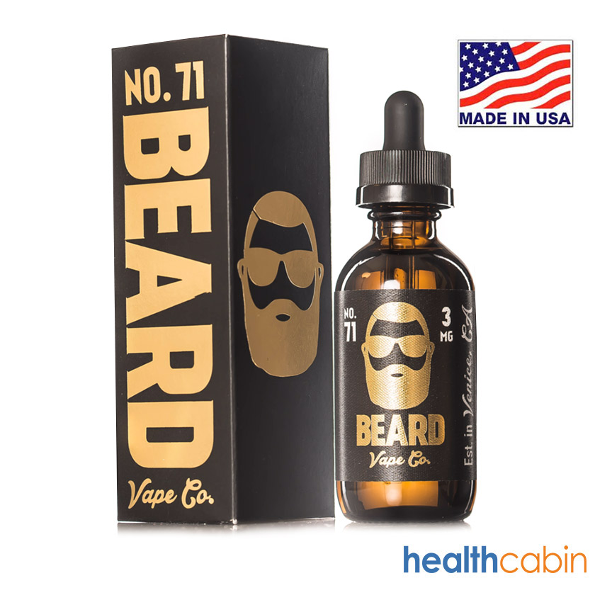 30ml Beard Vape Co No. 71 Sweet & Sour Sugar Peach E-liquid