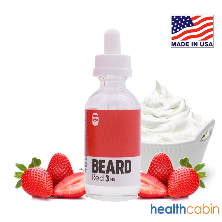 60ml Beard Vape Co Red E-liquid