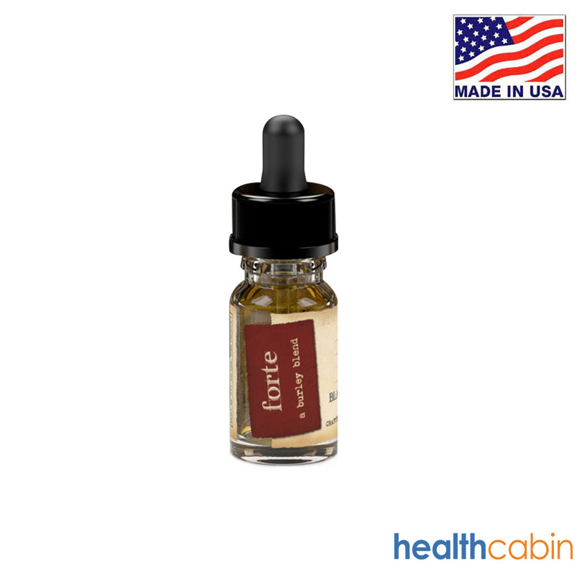10ml Black Note Forte Naturally Extracted Tobacco E-liquid