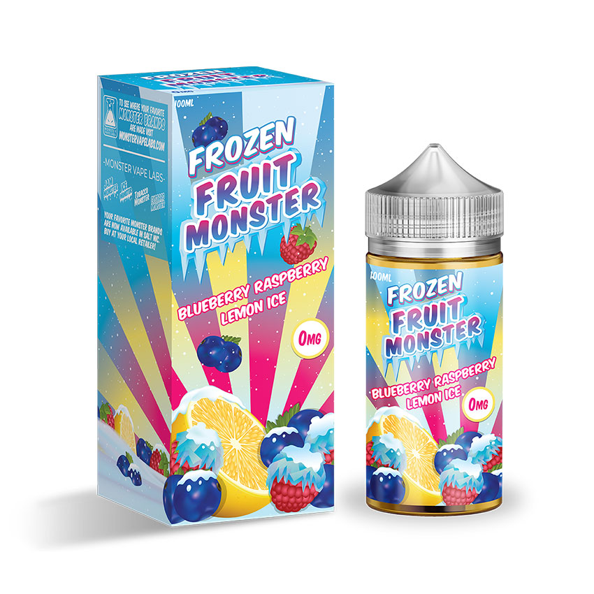 100ml Jam Monster Frozen Fruit Monster Blueberry Raspberry Lemon ICE E-liquid