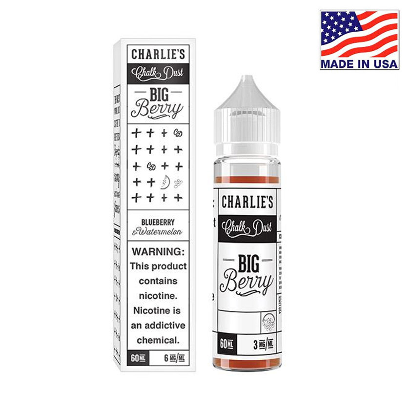 60ml Charlies Chalk Dust Big Belly Jelly  E-liquid