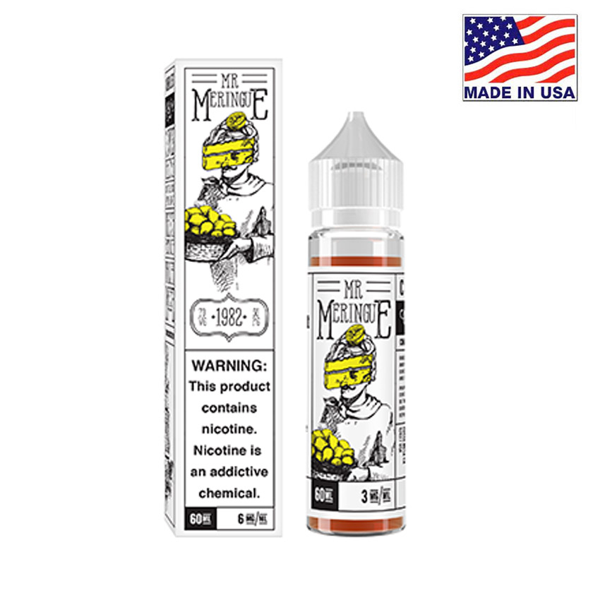 60ml Charlies Chalk Dust Mr. Meringue E-liquid