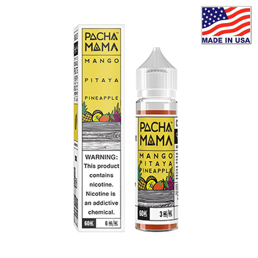 60ml Charlies Chalk Dust Pacha Mama Mango Pitaya Pineapple E-liquid