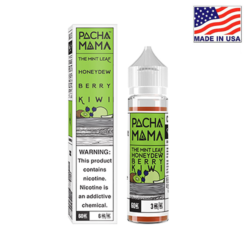 60ml Charlies Chalk Dust Pacha Mama Mint Honeydew Berry Kiwi E-liquid