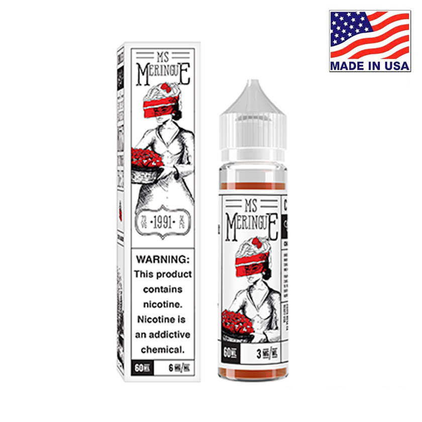 60ml Charlies Chalk Dust Miss Meringue E-liquid