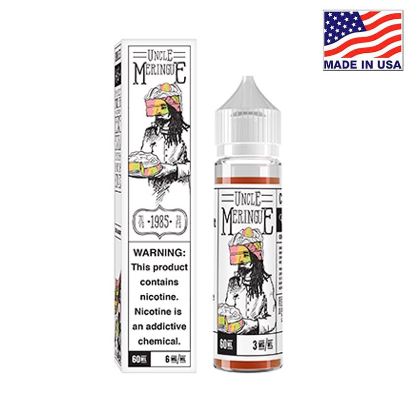 60ml Charlies Chalk Dust Uncle Meringue E-liquid