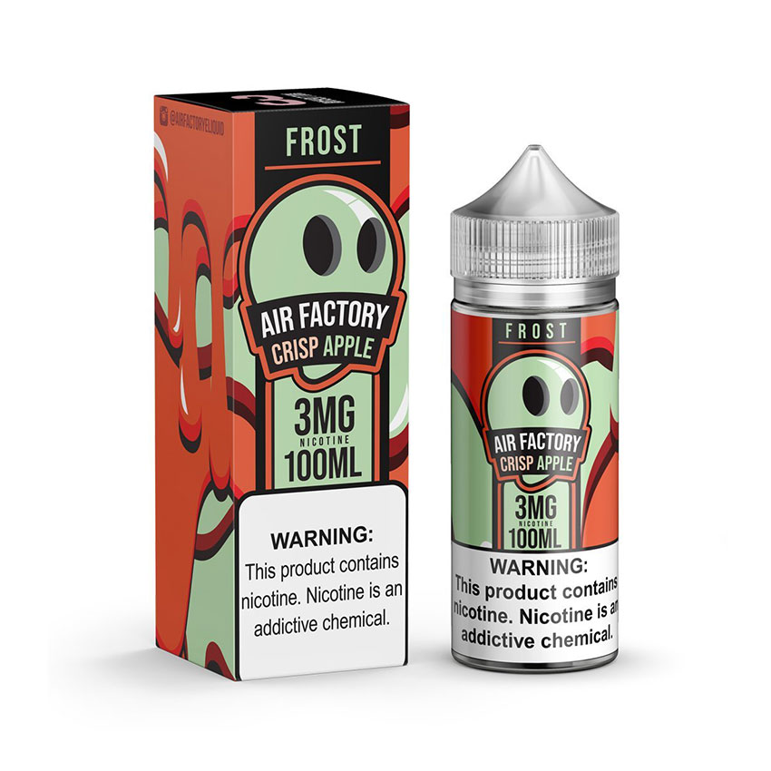 100ml Air Factory Frost Crisp Apple E-Liquid