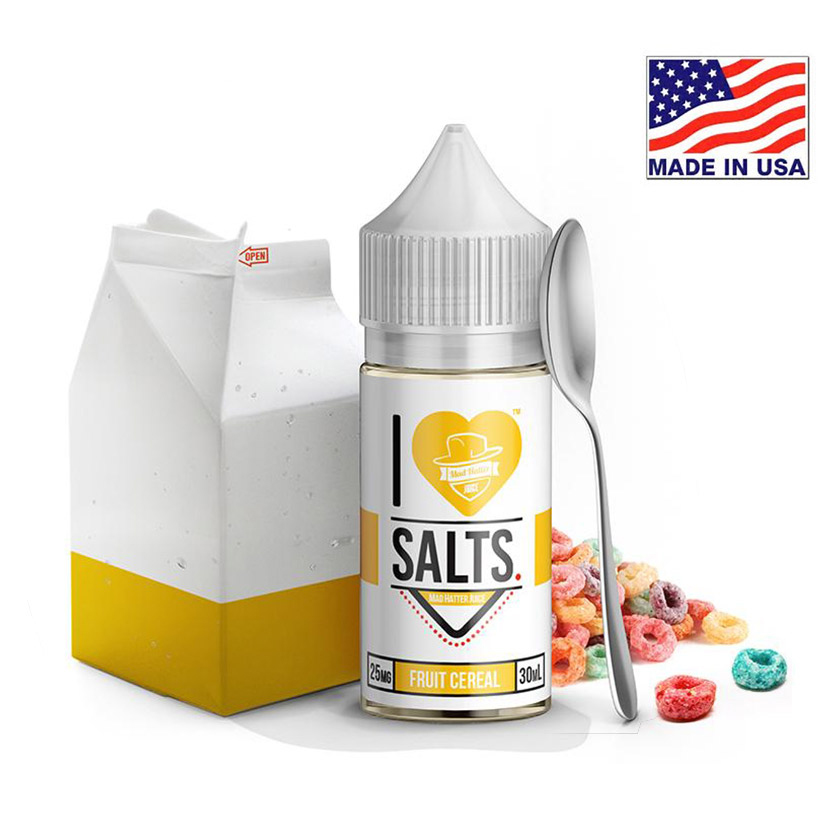 30ml Mad Hatter I Love Salts Fruit Cereal E-liquid