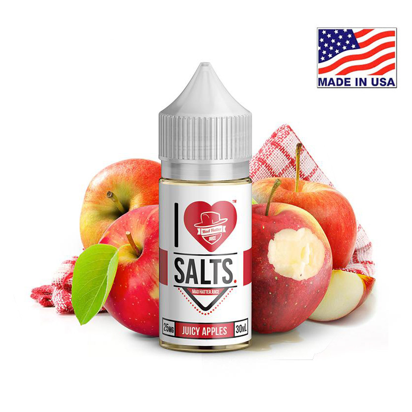 30ml Mad Hatter I Love Salts Juice Apples E-liquid