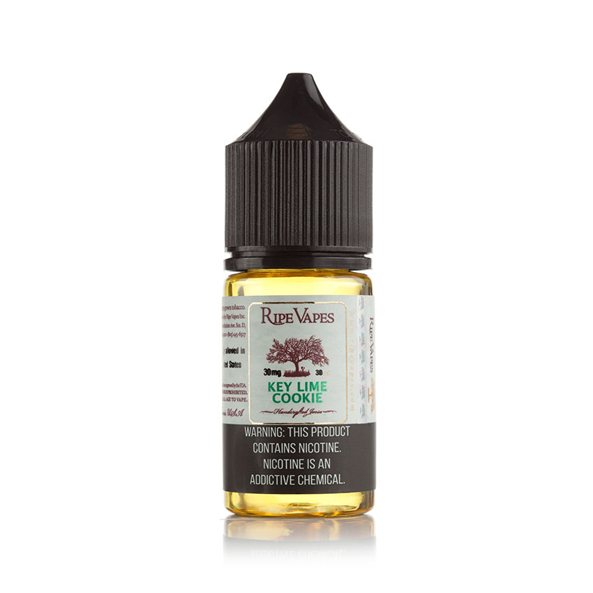 30ml Ripe Vapes Key Lime Cookie (KLC) Salt E-liquid