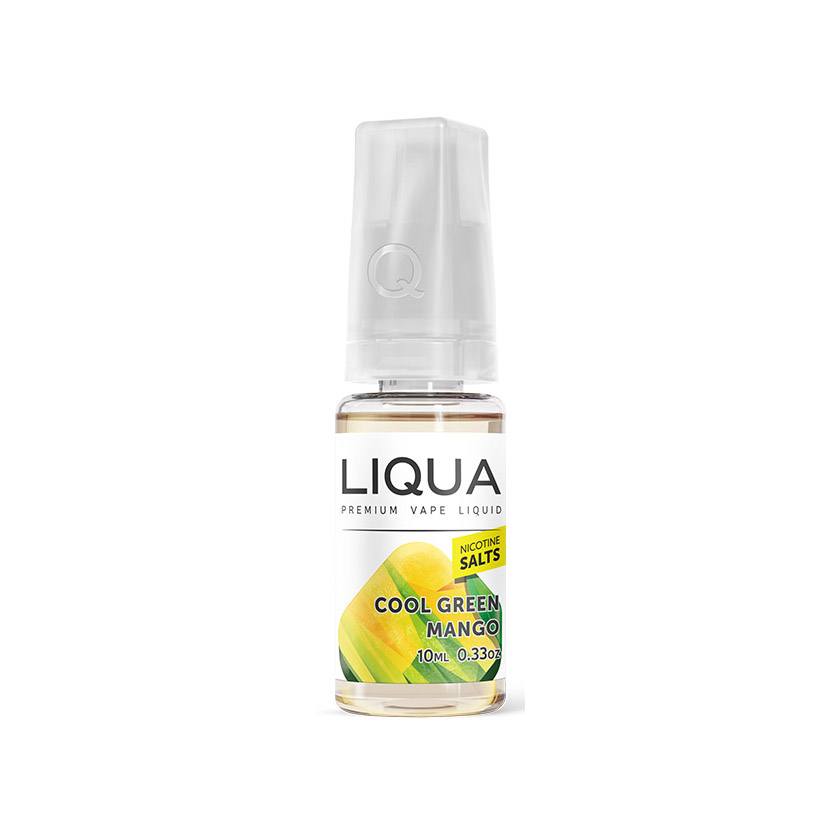 10ml NEW LIQUA Cool Green Mango Salts E-Liquid (40PG/60VG)