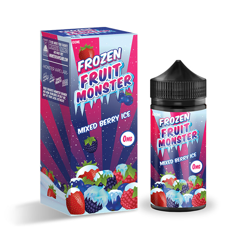 100ml Jam Monster Frozen Fruit Monster Mixed Berry ICE E-liquid