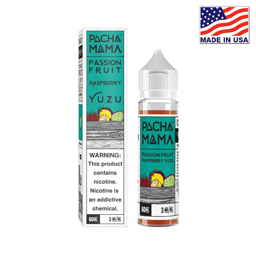 60ml Charlies Chalk Dust Pacha Mama Passion Fruit Raspberry Yuzu E-liquid