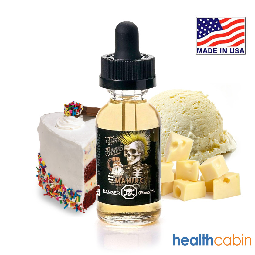 60ml Time Bomb Vapors Maniac E-liquid