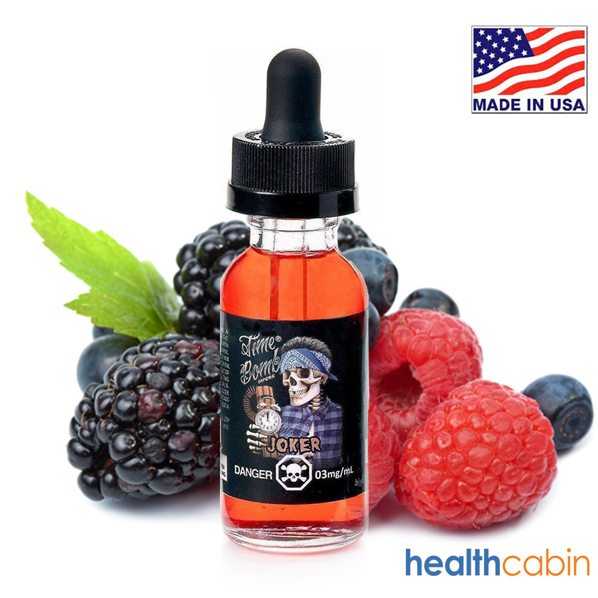 60ml Time Bomb Vapors Jocker E-liquid