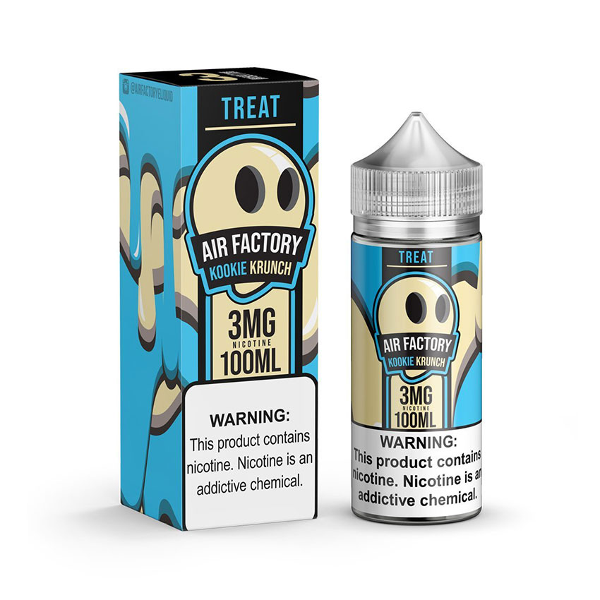 100ml Air Factory Treats Kookie Krunch E-Liquid