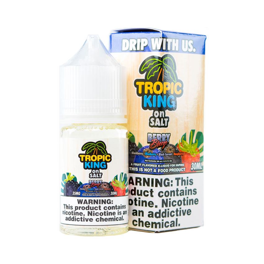 30ml Tropic King Berry Breeze Salt E-liquid