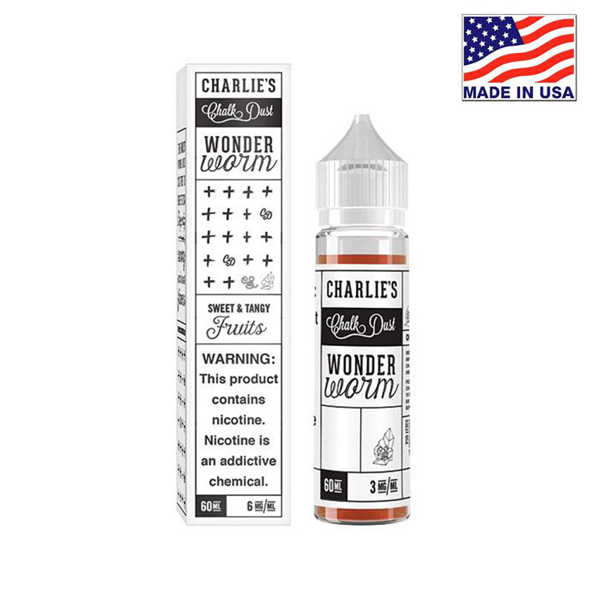 60ml Charlies Chalk Dust Wonder Worm E-liquid