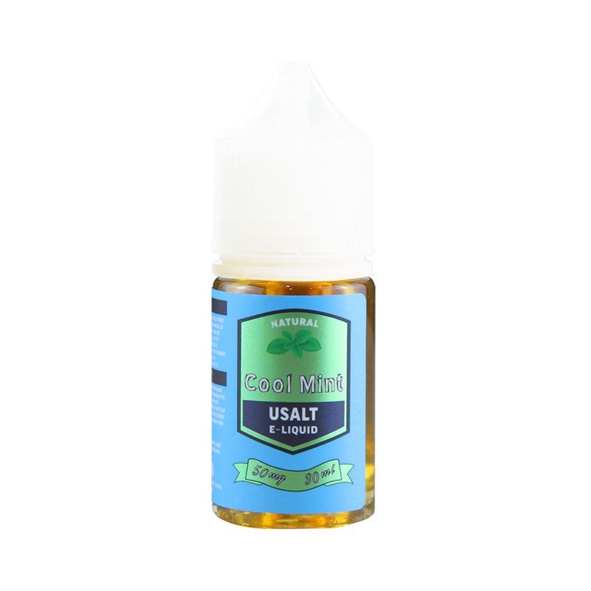 30ml Usalt Natural Nic Salt Cool Mint E-liquid