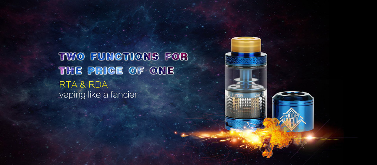 Uwell Fancier RTA Atomizer 4ml