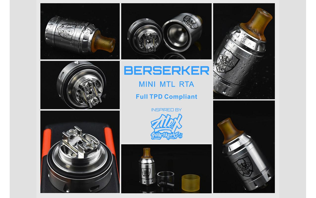 Vandyvape Berserker MTL Mini RTA
