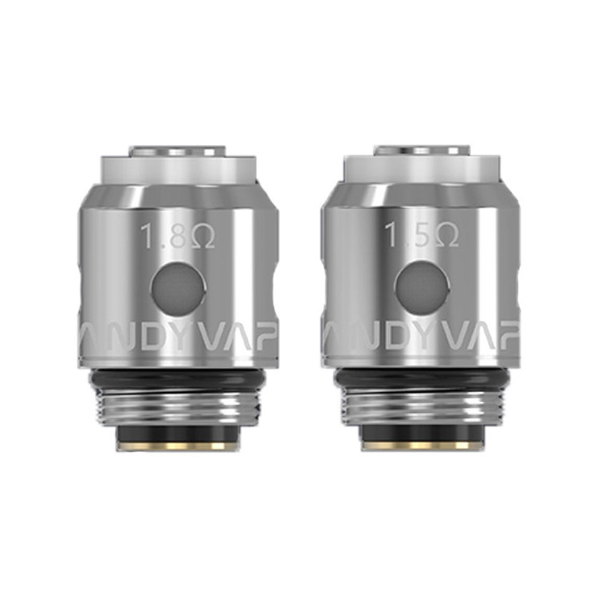 Vandy vape Replacement Coils (1.5ohm & 1.8ohm & 0.7ohm) for Berserker MTL Tank/AP MTL Tank /BSKR S Kit(5pcs/Pack)