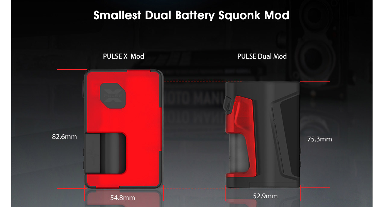 Vandy Vape Pulse Dual 220w Squonk Kit with Pulse V2 RDA
