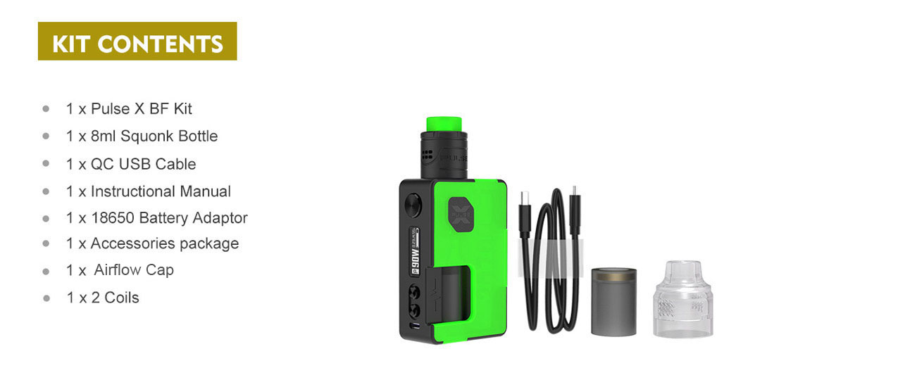 Kit Vandy Vape Pulse X BF