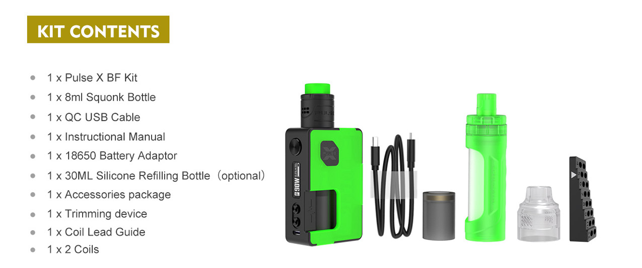 Vandy Vape Pulse X BF Kit