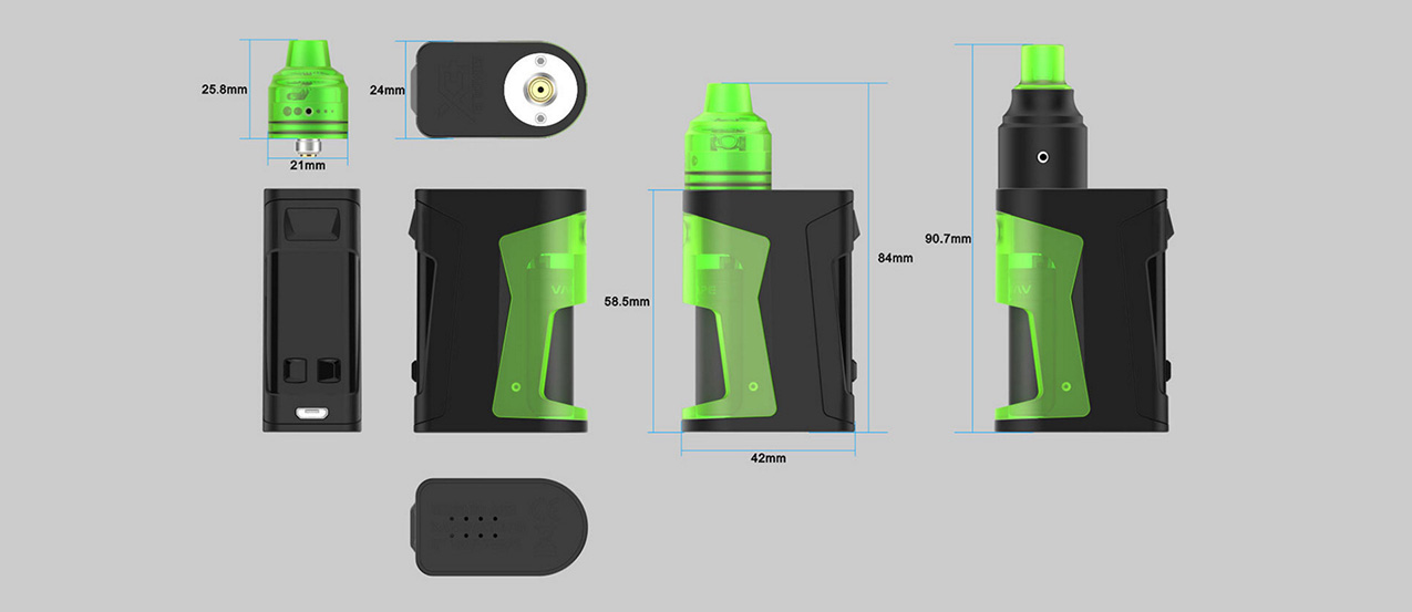 Vandyvape Simple EX Squonk Mod Kit