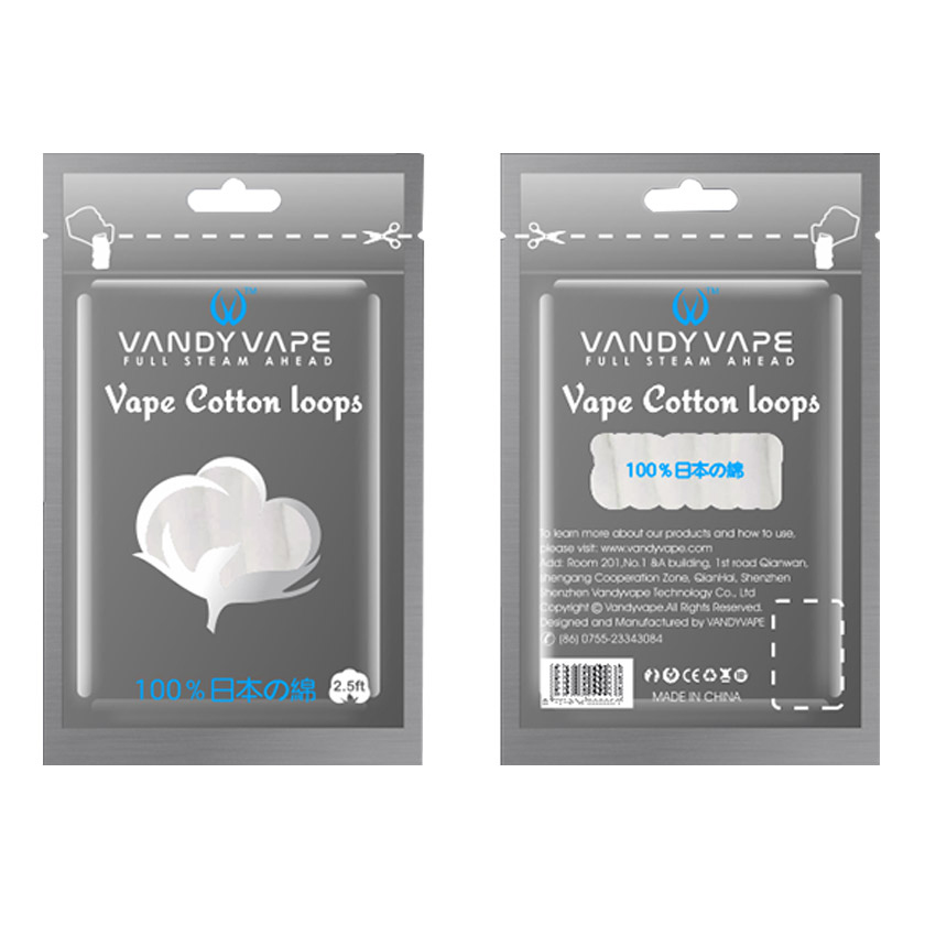 2.5ft Vandy vape Vape Cotton Loops