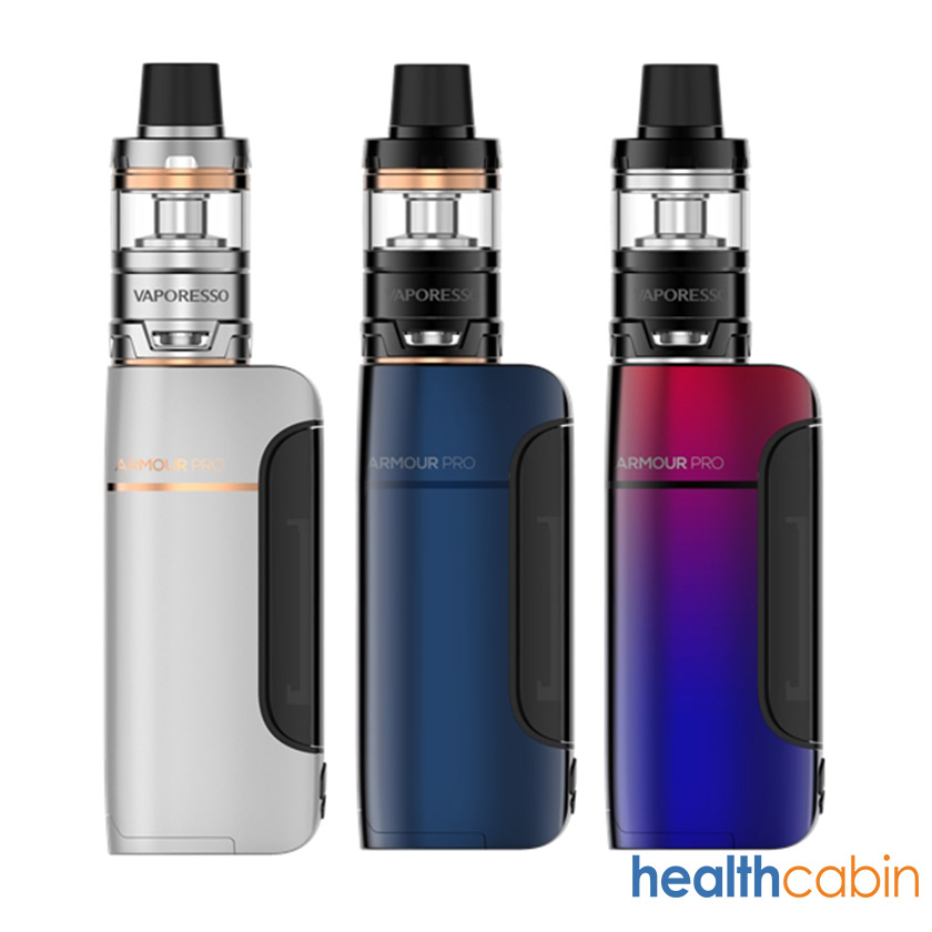 Vaporesso Armour Pro 100W Mod Kit with Cascade Baby Tank Atomizer 5ml