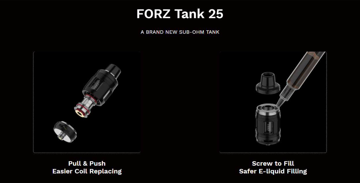Vaporesso FORZ TX80 Tank