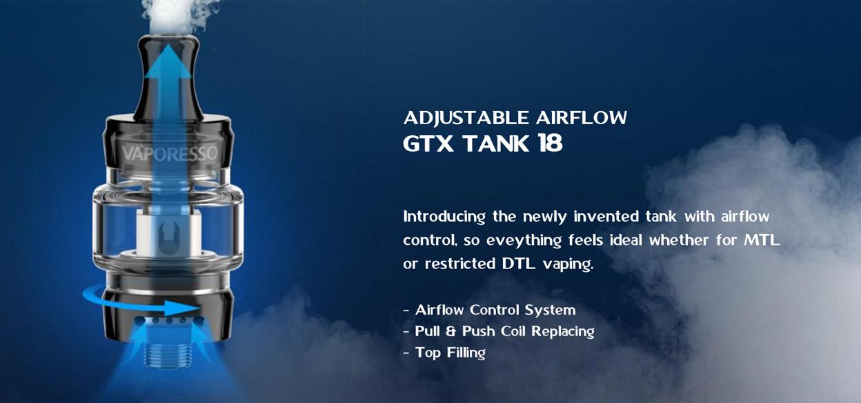 Vaporesso GTX One Kit