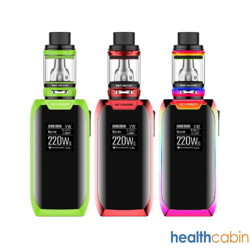 Vaporesso Revenger X 220W Box Kit with 5ml NRG Tank