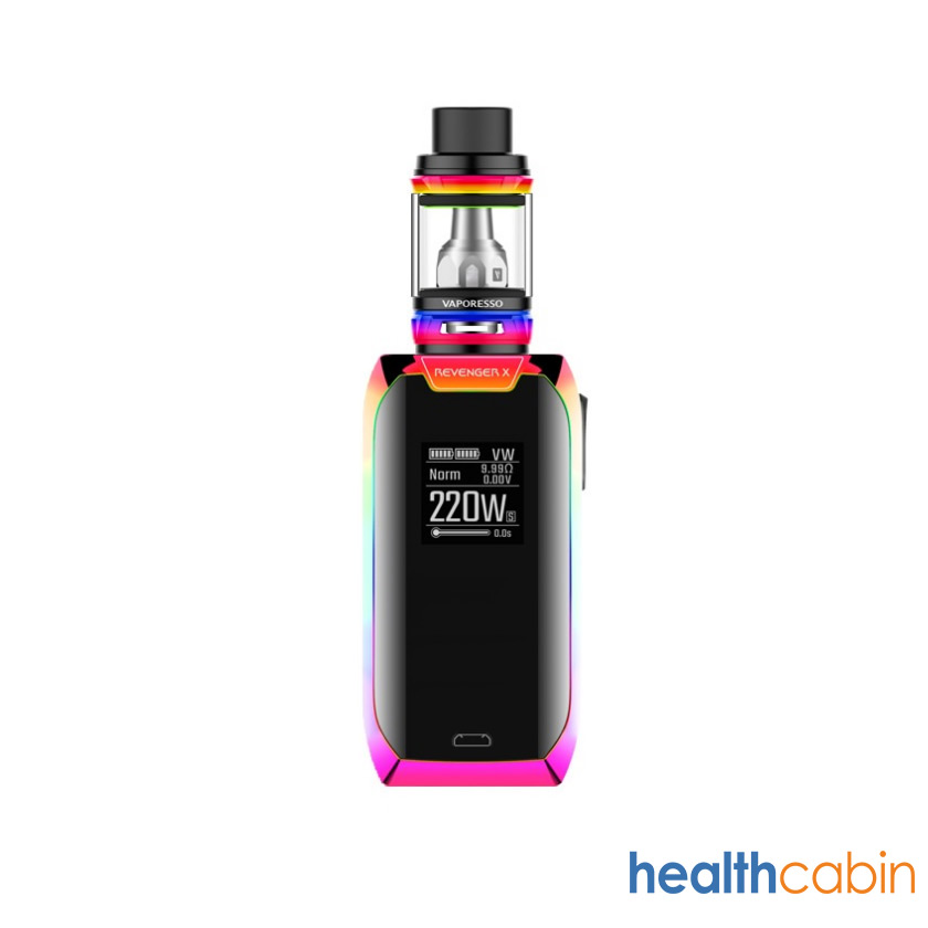 Vaporesso Revenger X 220W Box Kit with 5ml NRG Tank Rainbow