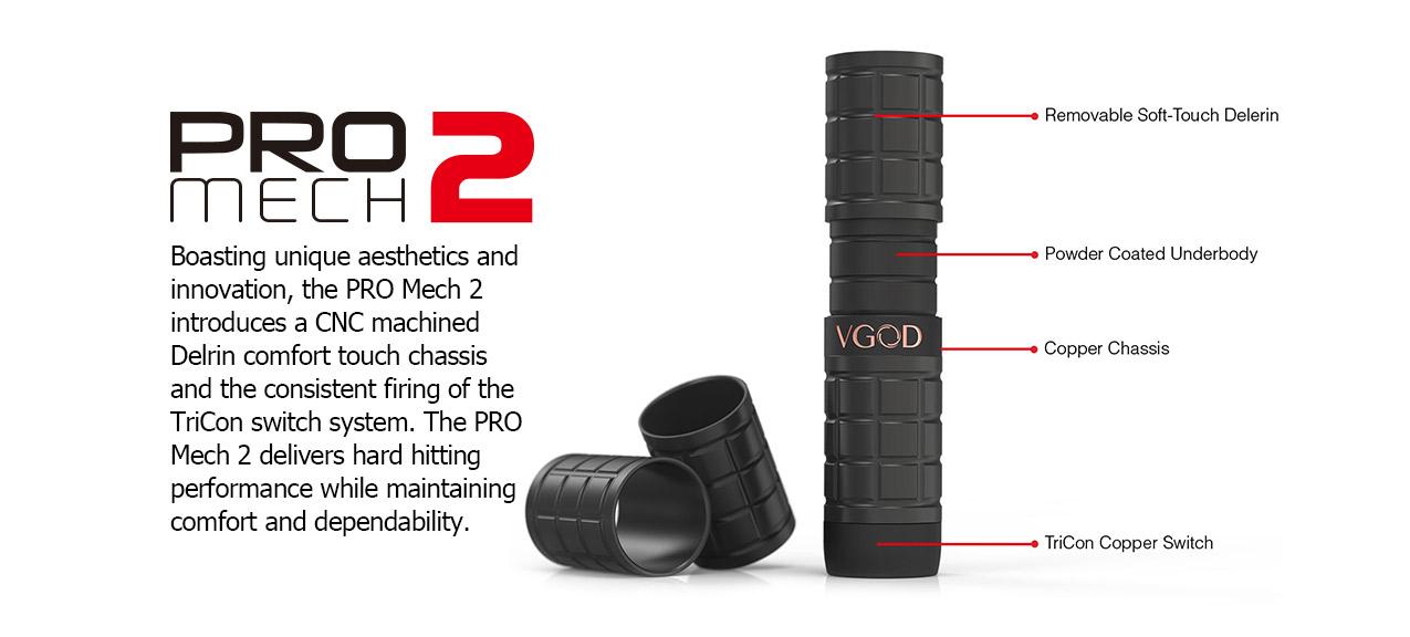 VGOD Pro Mech 2 Kit with Elite RDA Atomizer