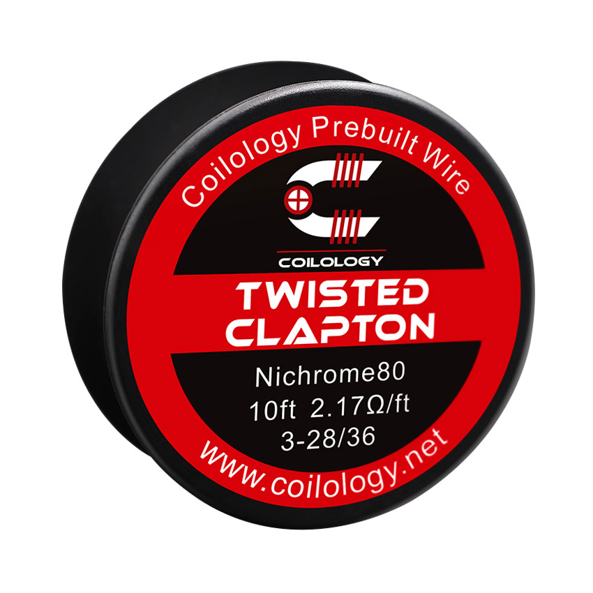 10ft Coilology Twisted Clapton Spool Wire