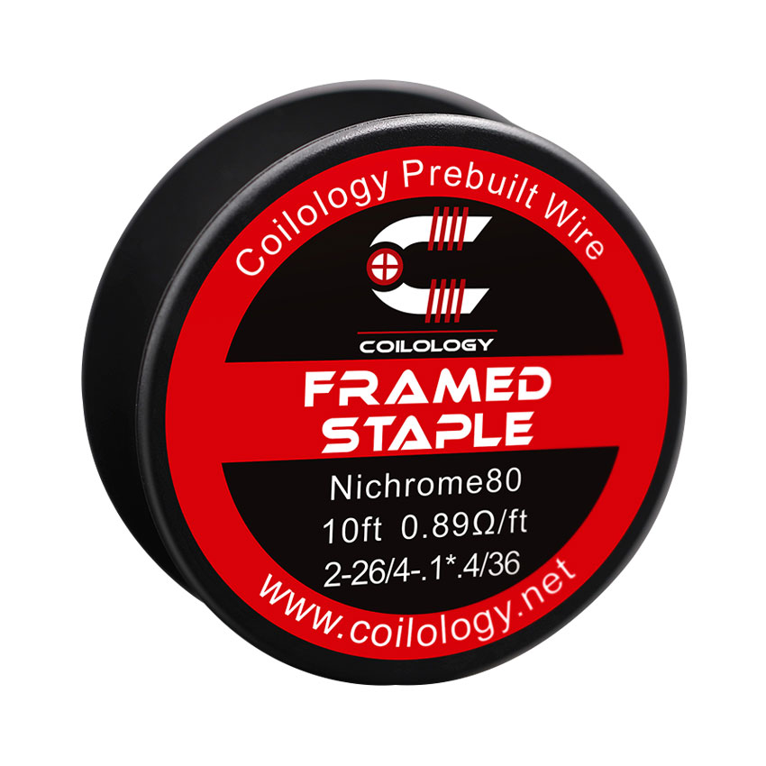 10ft Coilology Framed Staple Spool Wire