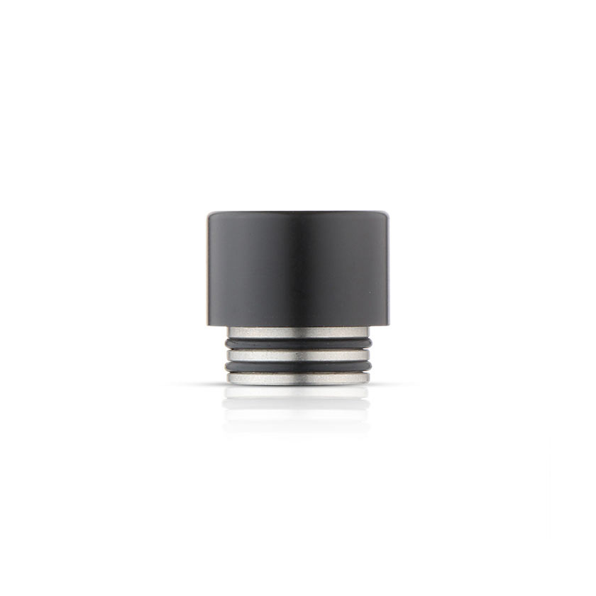 Delrin & Stainless Wide Bore Drip Tip for Smok TFV8 Cloud Beast Tank Atomizer Black